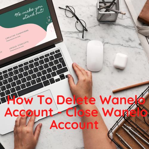 How To Delete Wanelo Account